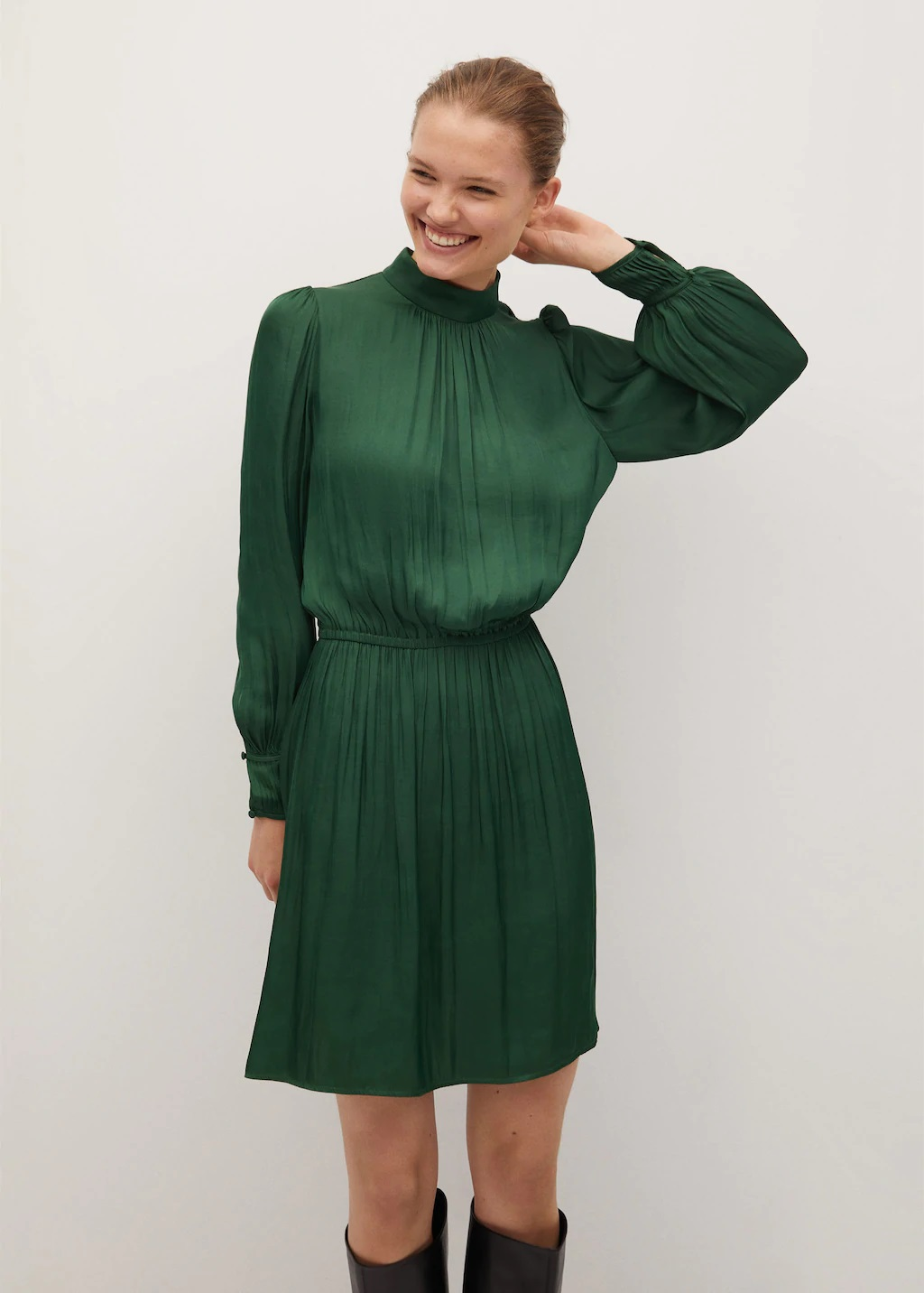 Leonor destaca en los Premios Princesa de Asturias con un vestido de Mango de 39,99 euros