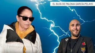 Isabel Pantoja y Kiko Rivera en un fotomontaje de Look / Gtres