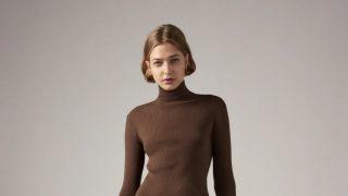 Este vestido de punto de Zara es un homenaje al otoño en todos los sentidos