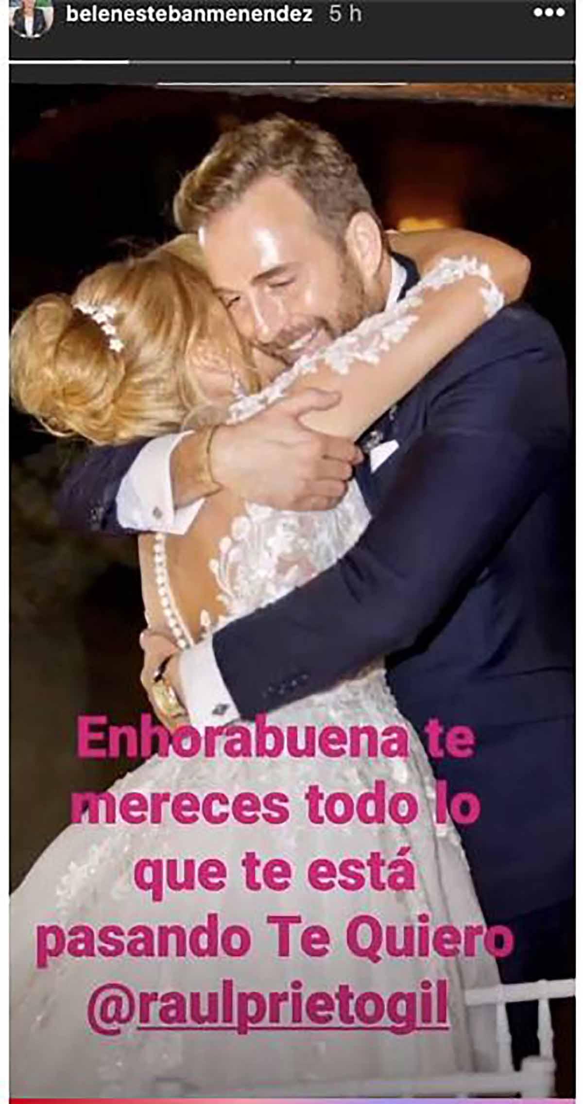 Belén Esteban no ha dudado en felicitar a su amigo por su nuevo éxito profesional / Instagram