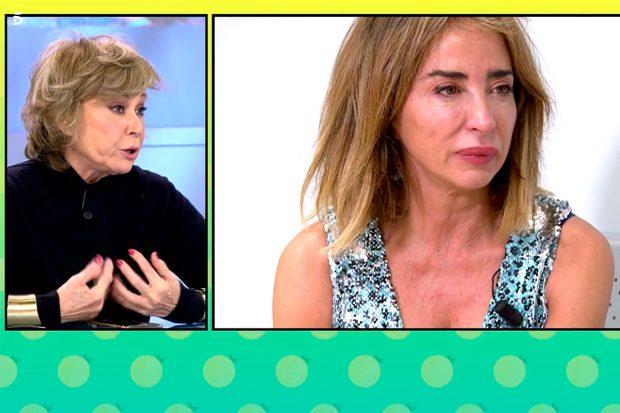 Mila Ximénez, preocupada por el estado anímico de su amiga María Patiño/Mediaset