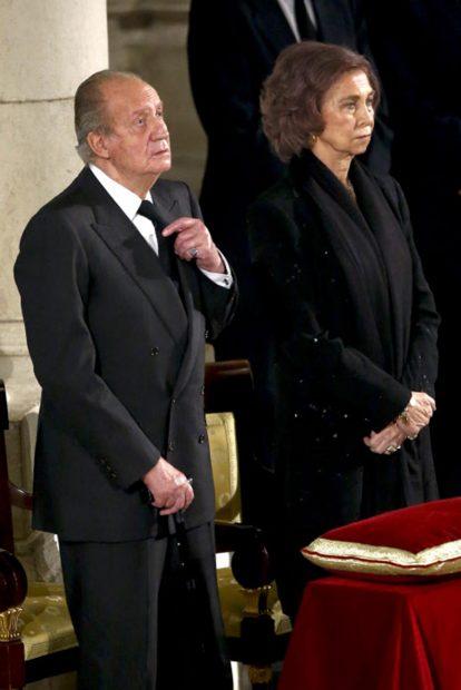 Don Juan Carlos y doña Sofía/Gtres