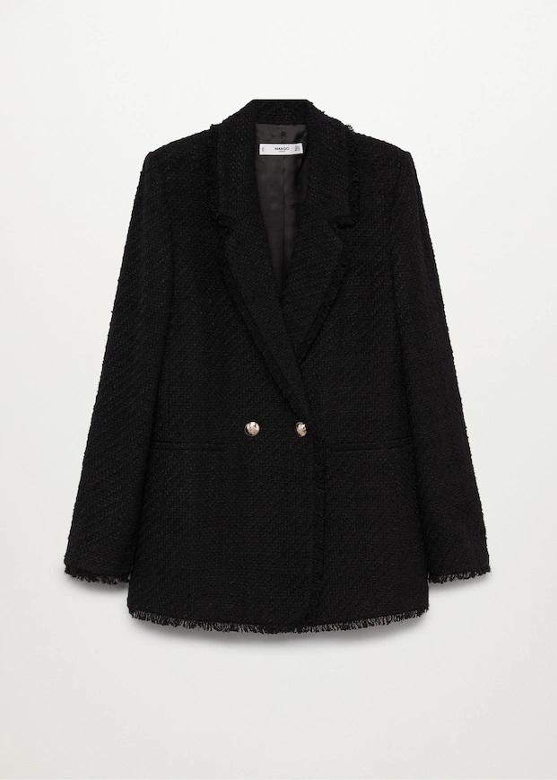 Paula Echevarría luce barriga con una chaqueta de Mango que marca tendencia