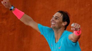 Rafa Nadal, cuando se proclamó ganador de Roland Garros / Gtres