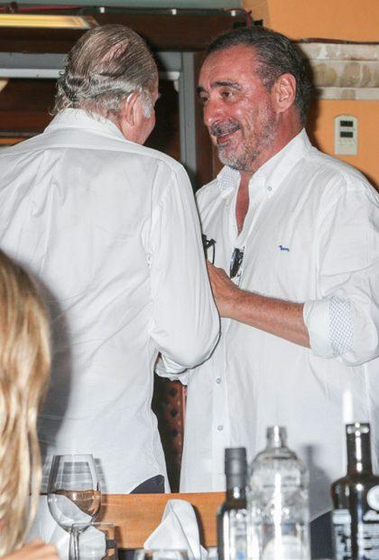 Rey Juan Carlos, Carlos Herrera