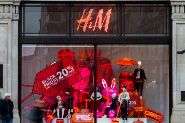 H&M en pleno 'Black friday'./Gtres