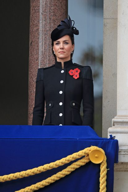Kate Middleton en el Día del Armisticio 2020/Gtres