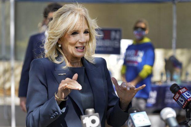 Jill Biden en una imagen de archivo./Gtres