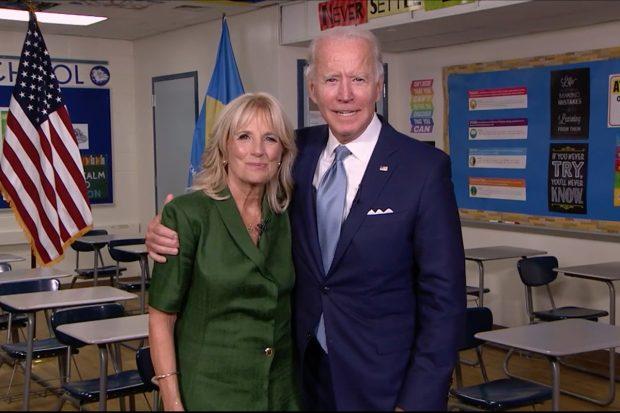 Jill y Joe Biden en una imagen de archivo./Gtres