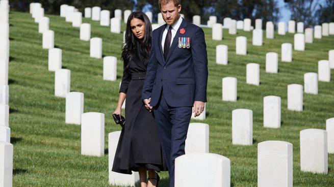 Meghan Markle y el príncipe Harry./Gtres