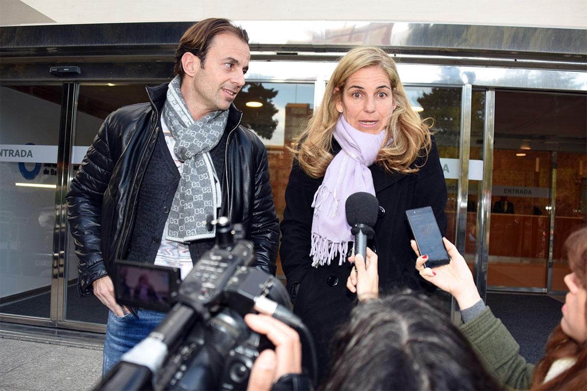 Arantxa Sánchez Vicario y su exmarido, Josep Santacana