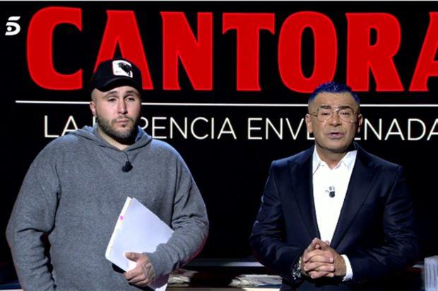 Kiko Rivera y Jorge Javier en el especial 'Cantora: herencia envenenada'/Telecinco