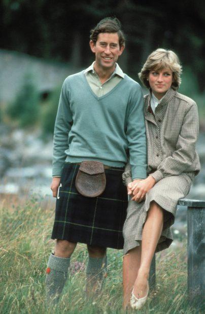 Lady Di y el príncipe de Gales/Gtres