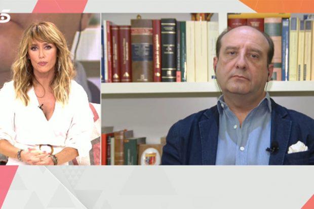 Joaquín Moeckel ha intervenido en 'Viva la vida'./Telecinco