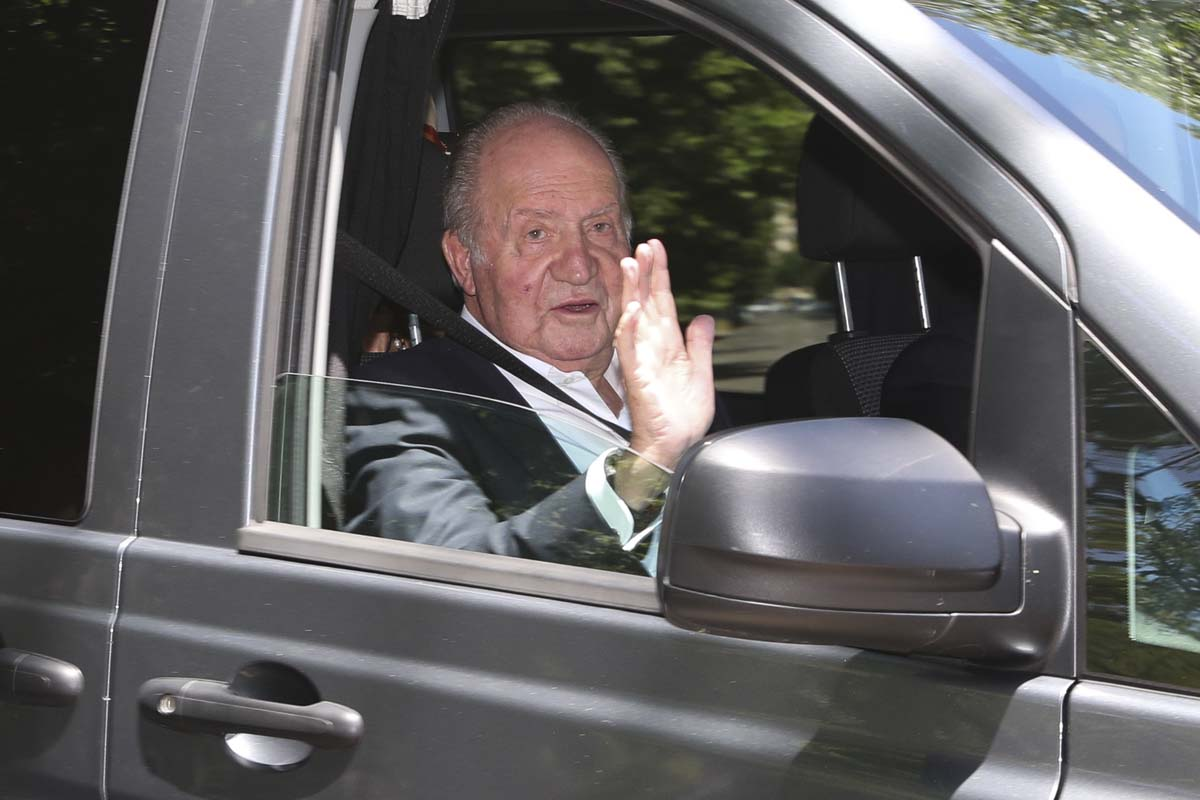 Don Juan Carlos continúa en los Emiratos Árabes sin fecha para su regreso a España/Gtres