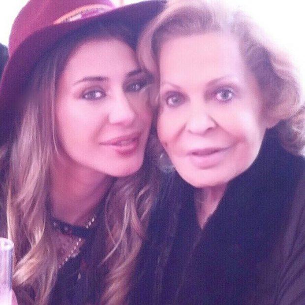 """""""Una dama donde las haya"""", así definía Elena a su abuela en su 86 cumpleaños/@hellentablada"""