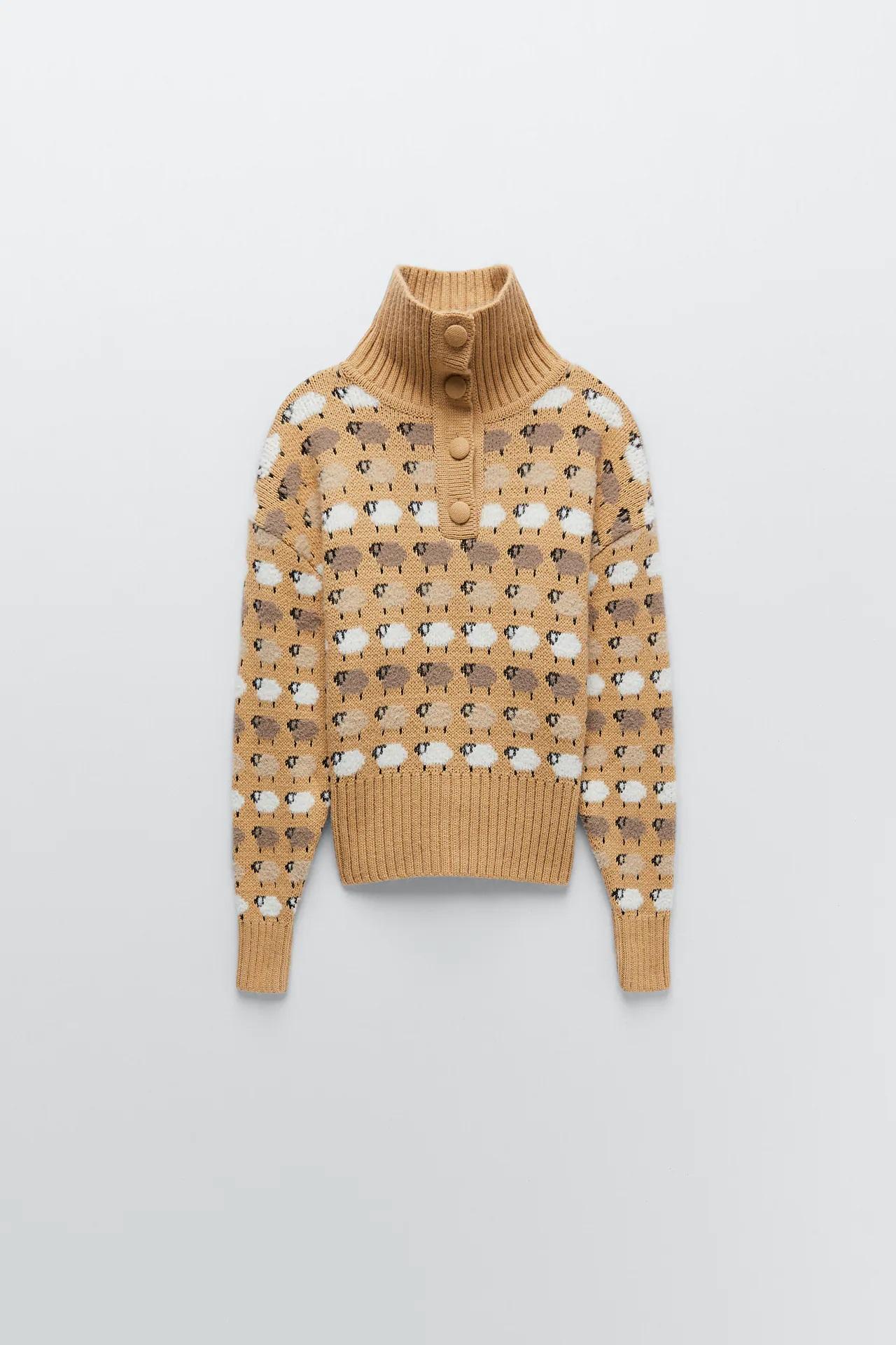 Zara tiene el jersey de ovejas que puso de moda Lady Di en versión low cost