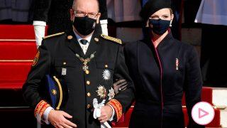Alberto y Charlene han vuelto a presidir el Día Nacional de Mónaco / Gtres