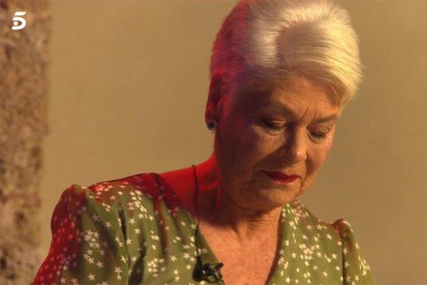 Durante el especial 'Cantora: la herencia envenenada 2', Teresa Rivera se ha emocionado en varias ocasiones al recordar a su hermano./Telecinco