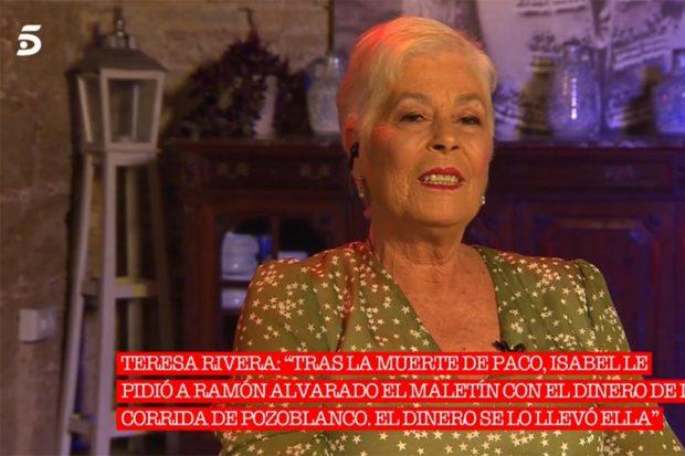 Teresa Rivera protagonista de 'Cantora: la herencia envenenada 2'./Telecinco