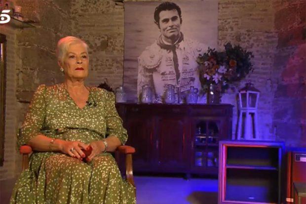 Teresa Rivera durane el especial 'Cantora: la herencia envenenada 2'./Telecinco