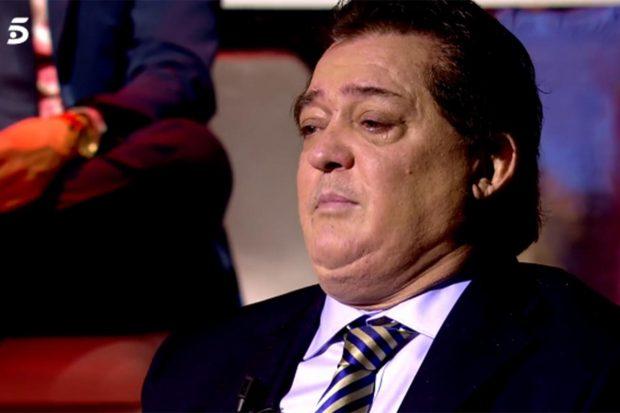 Vicente Ruiz Soro muy emocionado hablado de su amigo Paquirri./Telecinco