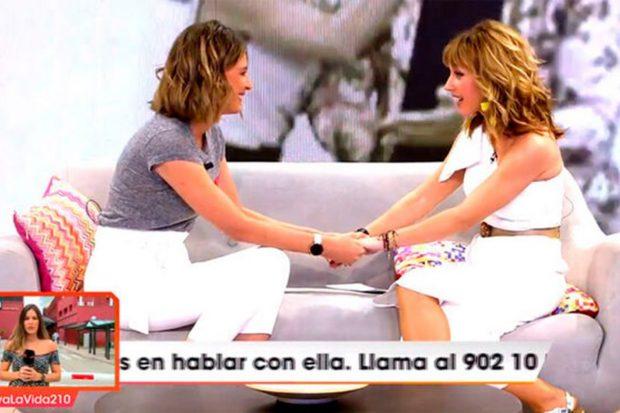 Sandra Barneda sustituirá a Emma García en 'Viva la vida'./Telecinco