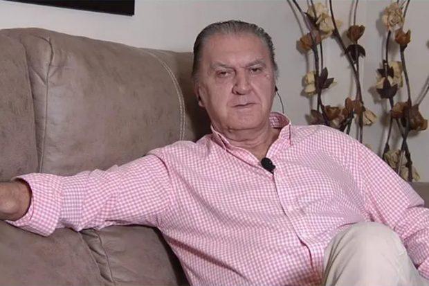Luis Lara en interviniendo en 'Sábado Deluxe'./Telecinco