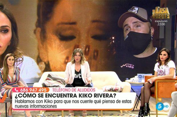 Irene Rosales rompe a llorar en 'Viva la vida'./Telecinco