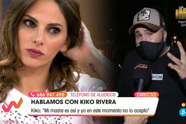 Irene Rosales se ha derrumbado este domingo en 'Viva la vida'./Telecinco