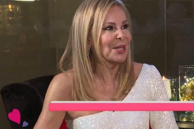 Ana Obregón durante su primera entrevista en televisión./RTVE