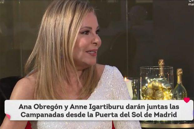 Ana Obregón en su primera entrevista en televisión./RTVE