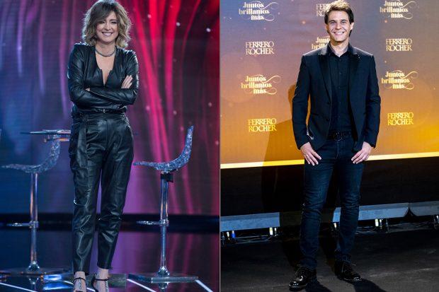 Sandra Barneda y Christian Gálvez serán los encargados de dar las Campanadas 2020 en Telecinco./Gtres