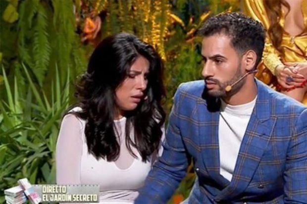 Isa P y Asraf Beno durante su debut en 'La casa fuerte 2'./Telecinco