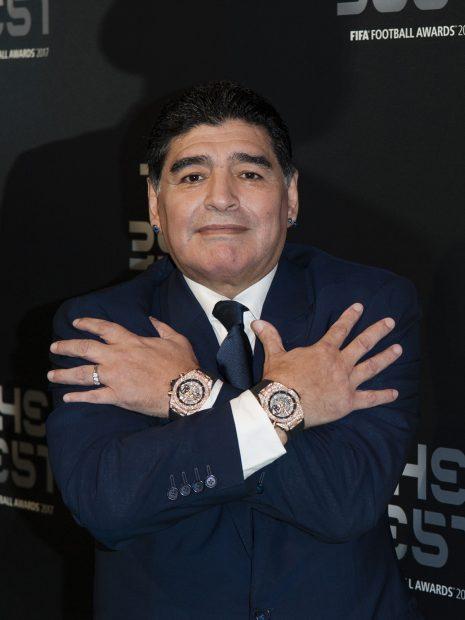 Diego Armando Maradona en una imagen de archivo./Gtres
