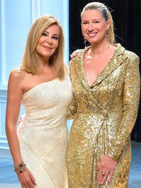 Ana Obregón y Anne Igartiburu serán las encargadas de dar las Campanadas 2020 en RTVE./Instagram @ana_obregon_oficial
