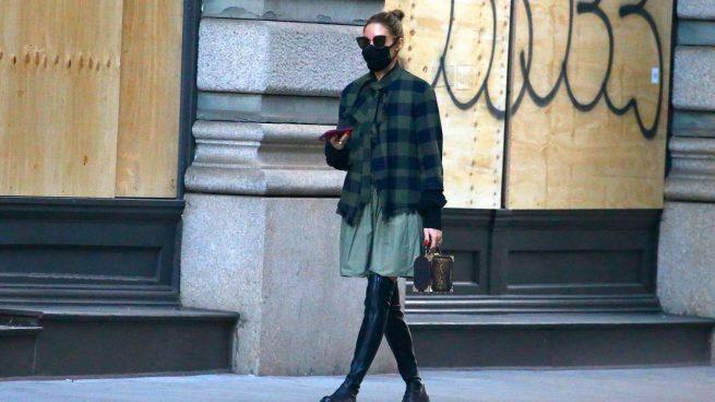 Olivia Palermo botas altas otk / Gtres