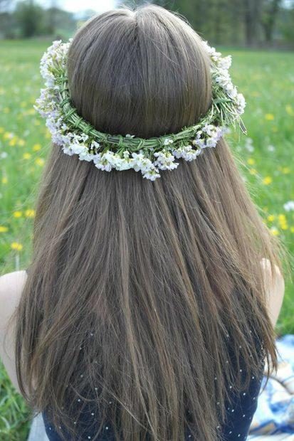 Atractiva y elegante: peinados con pelo suelto