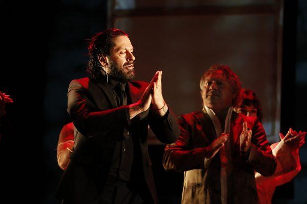 Rafael Amargo durante la presentación de 'Yerma'./Gtres
