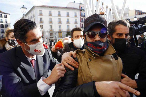 Rafael Amargo en las calles de Madrid./Gtres