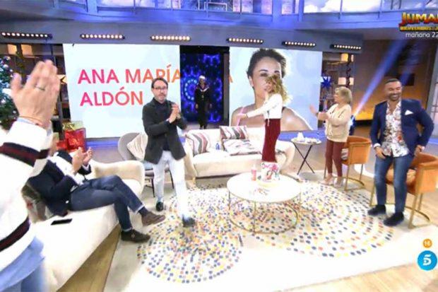 Ana María Aldón, nueva colaboradora de 'Viva la vida'./Telecinco