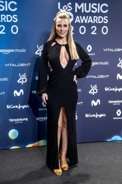 Edurne en Los 40 Music Awards 2020./Gtres