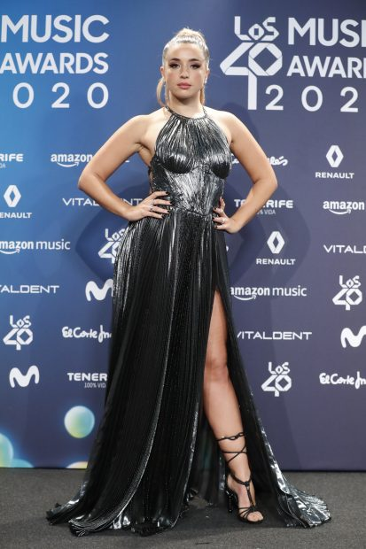 Lola Índigo en Los 40 Music Awards 2020./Gtres