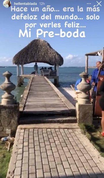 Preboda de Elena Tablada en Cuba./Instagram @hellentablada