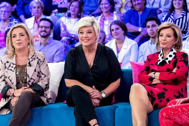 Carmen Borrego, Terelu y María Teresa Campos en una imagen de archivo./Gtres