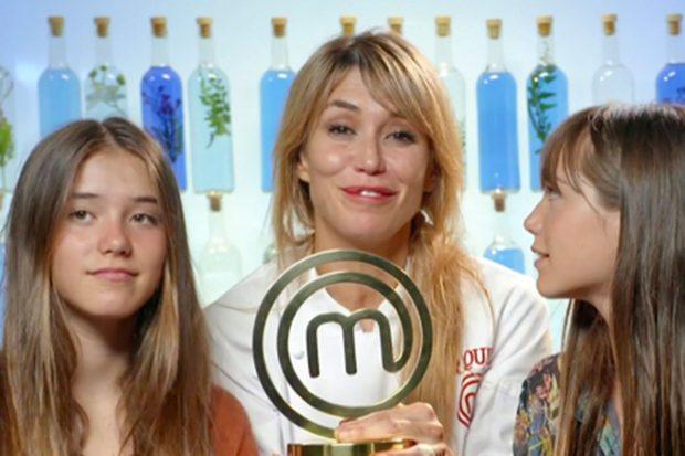 Cuando llegó al talent sus hijas la llamaban 'mamá microondas' por su poca destreza en la cocina//@masterchef_es