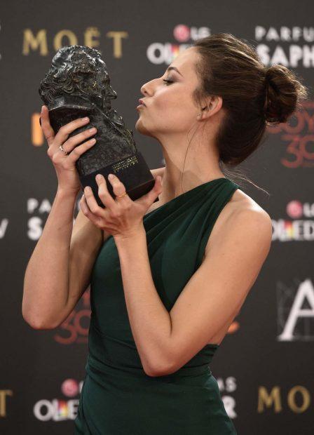 Entre los numerosos premios que ha recibido, Irene tiene un Goya como Mejor Actriz Revelación por 'Un otoño sin Berlín'/Gtres