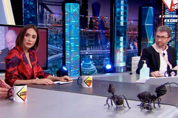 Tamara Falcó en su última intervención en 'El Hormiguero'/Atresmedia