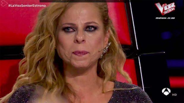 Pastora Soler terminó echa un mar de lágrimas al no haber reconocido la voz de Andrés/Atresmedia
