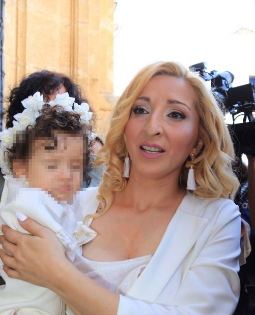 Michu afirma estar muy dolida con la familia de José Fernando por el trato que recibe su hija/Gtres